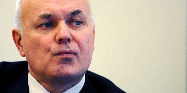 File photo dated 15/1/2008 of Secretary of State for Work and Pensions Iain Duncan Smith who has denied...