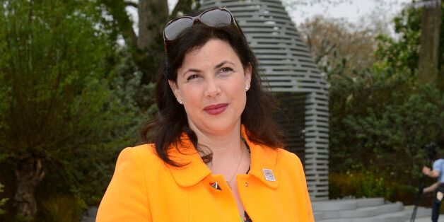 LONDON, ENGLAND - MAY 20: Kirstie Allsopp attends the Chelsea Flower Show press and VIP preview day at...