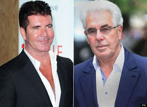 Simon Cowell Cuts All Ties With Max Clifford Following PR Guru's Conviction For Indecent