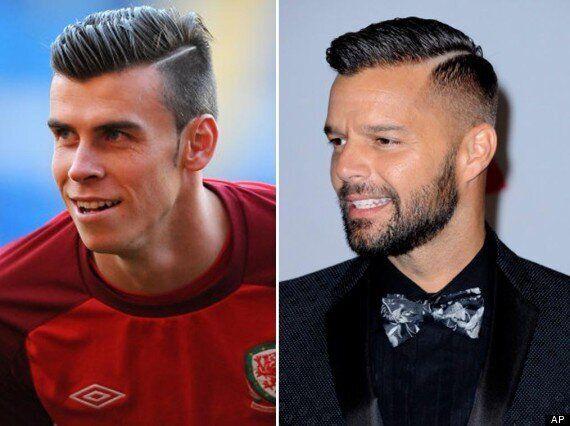 Ricky Martin Copies Gareth Bale's