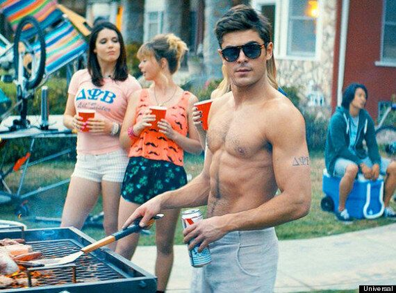 Zac Efron Explains Seth Rogen Made Him Strip Off For 'Bad Neighbours' (VIDEO