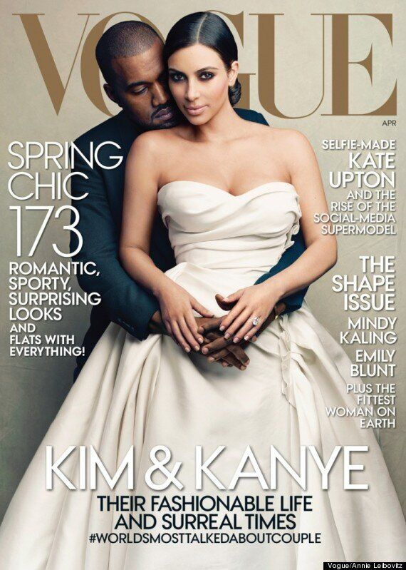 Kim Kardashian And Kanye West's Vogue Cover To Be Highest-Selling Issue In The Magazine's