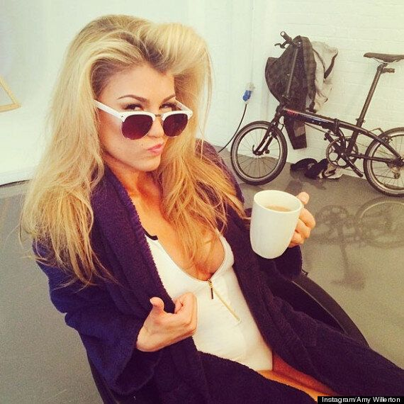 Amy Willerton Poses For Sexy Bikini Photo Shoot... And Is Brushed Down With