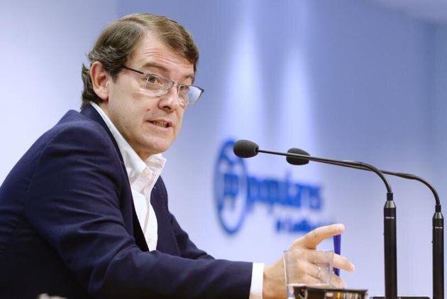 Principio de acuerdo en Castilla y León entre PP y Cs: Mañueco presidirá la Junta y Cs ocupará varias