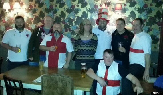 EDL Error: Men Chucked Out Of Pub For Wearing Patriotic Outfits On St George's