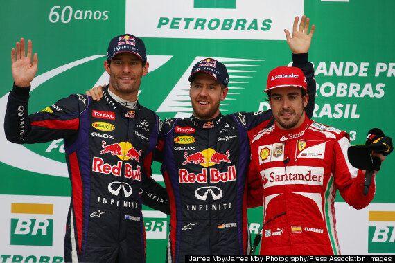 Sebastian Vettel wins Brazilian Grand Prix And Sets More
