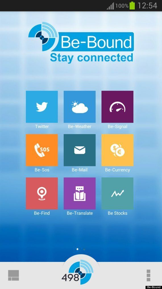 Be-Bound Android App Uses 2G Network To Do Away With Wi-Fi And Roaming