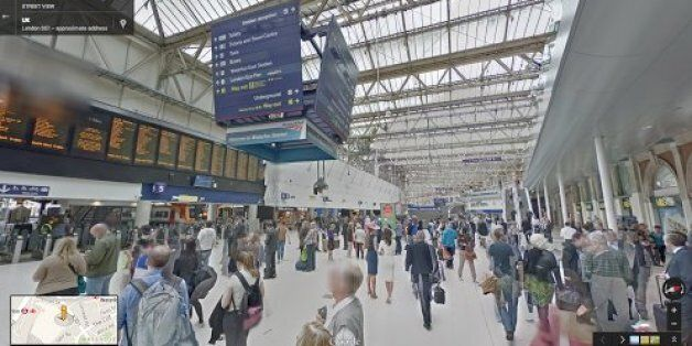 Google Street View: Gatwick Airport, Main Train Stations Added To