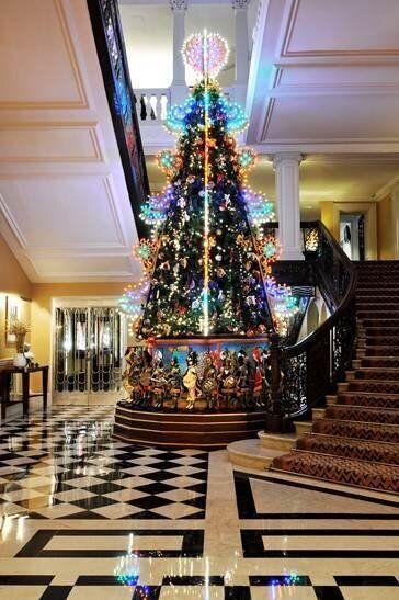 Claridges Christmas Tree Designed by Dolce &