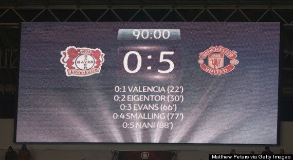 Bayer Leverkusen 0-5 Manchester United: Reds Set Record Champions League Away
