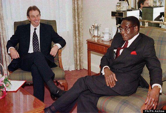 Tony Blair 'Wanted To Topple Mugabe', Thabo Mbeki