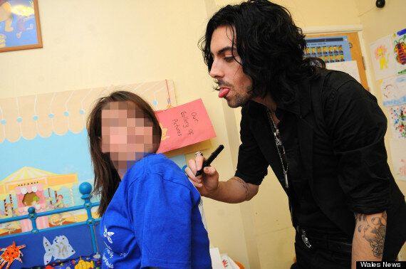Ian Watkins, Lostprophets Paedophile Singer Pictured Visiting Sick Children In Cardiff