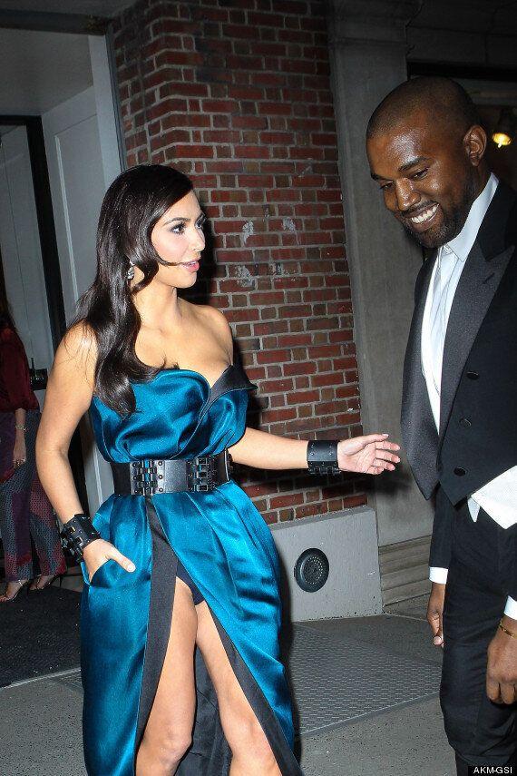 Met Ball 2014: Kim Kardashian Suffers Wardrobe Malfunction And Flashes Her Pants Ahead Of The NYC Gala