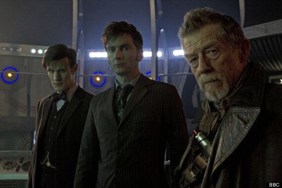 Guess Which 'Doctor Who' Star Of 'Day Of The Doctor' Generated The Most