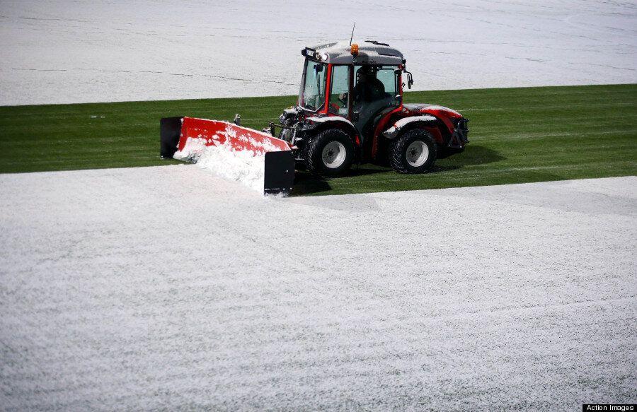 Tromsø's Alfheim Stadium Is A Winter Wonderland