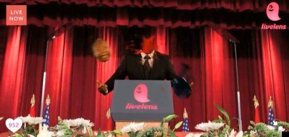 Nelson Mandela Sign Language Interpreter Thamsanqa Jantjie Resurfaces In Disturbing Ad For Video Sharing