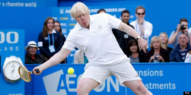 Boris Johnson Playing Tennis Is The Most Ridiculous Thing You'll See All Week