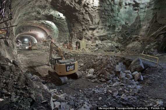 New York Second Avenue Subway Pictures Reveal Incredible Feat Of