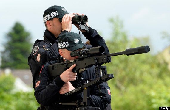 G8 Security Bill Defended By Northern Ireland Secretary Theresa