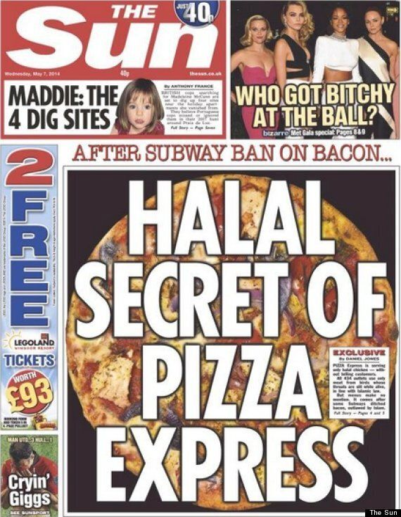 Pizza Express Serving Halal Meat: Twitter Reacts To The Sun's