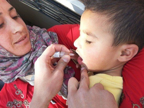 Intense Fighting in Syria Hampers Vital Polio Vaccination