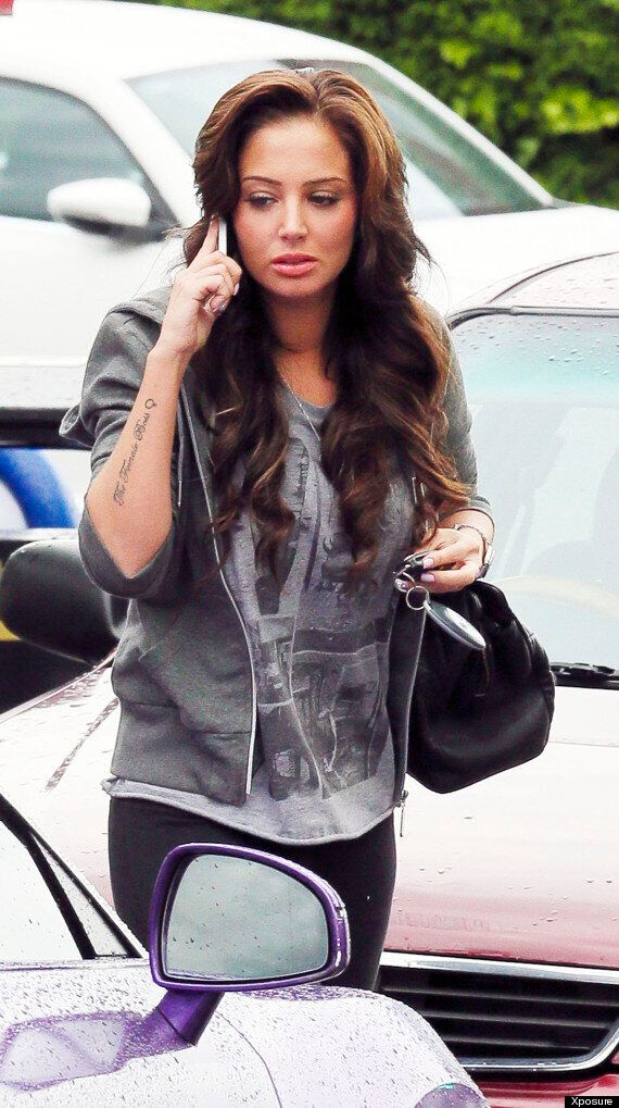 Tulisa Pictured For First Time Since Drugs Arrest As She Goes To Hairdressers