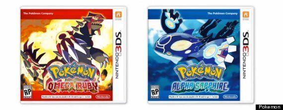 'Pokémon Omega Ruby' And 'Pokémon Alpha Sapphire'