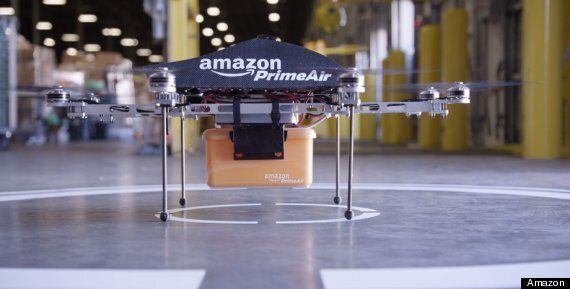 Amazon 'Prime Air': Drones To Deliver Packages By