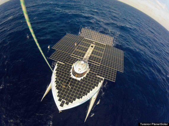 World's Largest All-Solar Powered Boat, Turanor PlanetSolar, To Embark On Gulf Stream