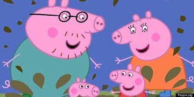 Peppa pig's Facebook was