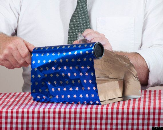'Man Wrap' Is The Solution To The 'Complicated' Issue Of Gift