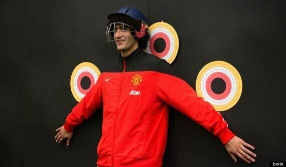 Manchester United Stars' Target Practice Ahead Of Everton Game