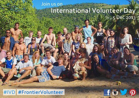 Be Inspired: International Volunteer Day