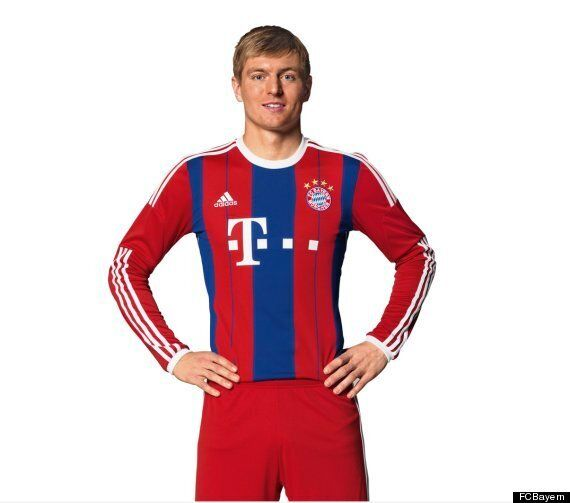 official photos 73389 9ebdd Bayern Munich Reveal 2014-15 Adidas Kit (PICTURES) | HuffPost UK