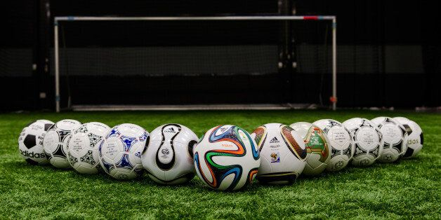 Adidas Reveal Brazuca: History Of World Cup