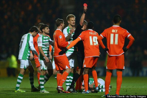 Paul Ince Will Discipline Blackpool Trio Sent Off At Yeovil