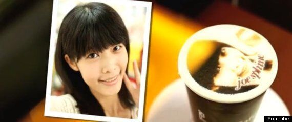 'Let's Cafe' Latte Art Printer Can Print Your Face On A Coffee