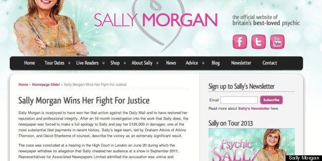 Sally Morgan won her court