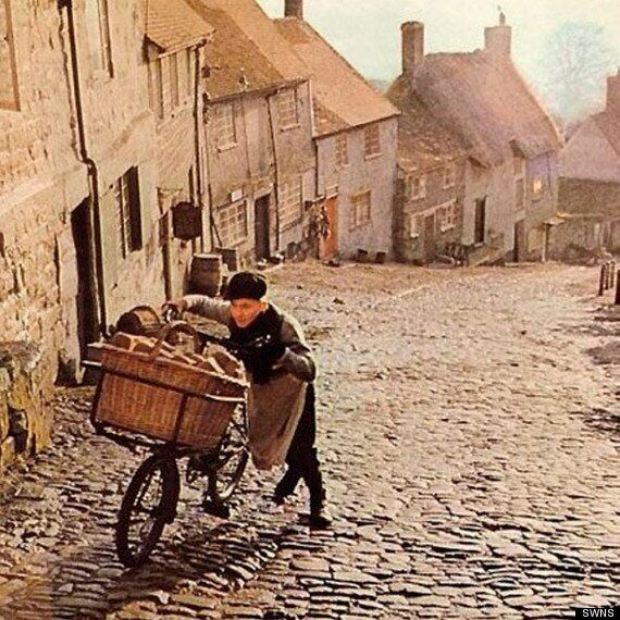 Ridley Scott's Hovis Bicycle Boy Returns To The Scene 40 Years Later