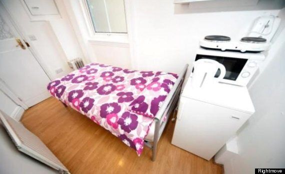 Earls Court Studio Flat Is Stupendously Small & Severely Expensive