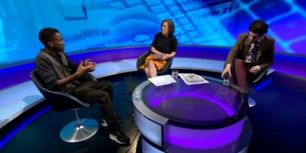 Newsnight: Tinchy Stryder And Milo Yiannopoulos Debate Online Music Piracy With Kirsty Wark