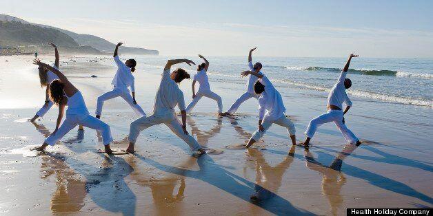 Morocco's new surf and yoga centre at Paradise Plage near Agadir.