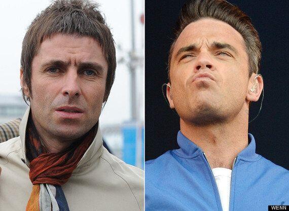 Liam Gallagher Reignites Robbie Williams Feud, Calling Him 'A F***ing Fat
