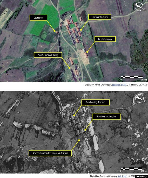 North Korea Is Expanding Its Prison Camps, Satellite Images