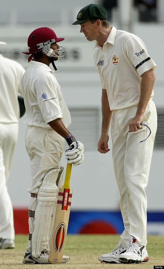 Ramnaresh Sarwan And Glenn McGrath: Cricket's Most Toxic Sledging Incident