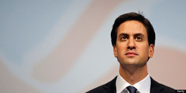 Ed Miliband, leader of the Labour