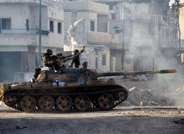 Syria: UK 'Will Act In Its Own Way' To Support Rebels Opposed To