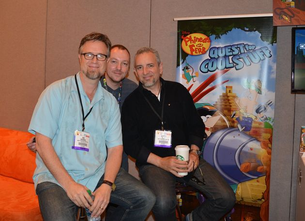 Phineas and Ferb Interview With Dan Povenmire and Swampy Marsh at E3