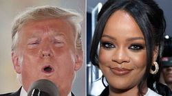 Trump's Twitter Account Liked A Rihanna 'Personal Days' Quote And The Jokes Just