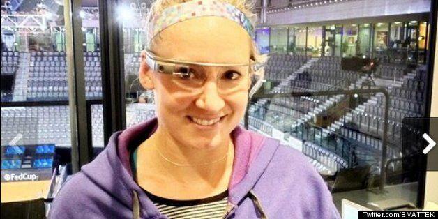 Bethanie Mattek-Sands Bids To Break Google Glass Ceiling At